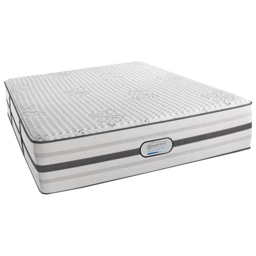 Beautyrest Platinum Austin Cal King Luxury Firm Mattress and SmartMotion™ 2.0 Adjustable Base