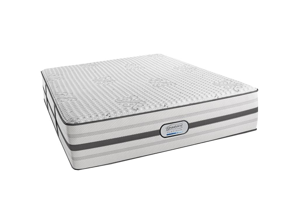 Beautyrest BR Platinum Hybrid AustinKing Luxury Firm 14 1/2