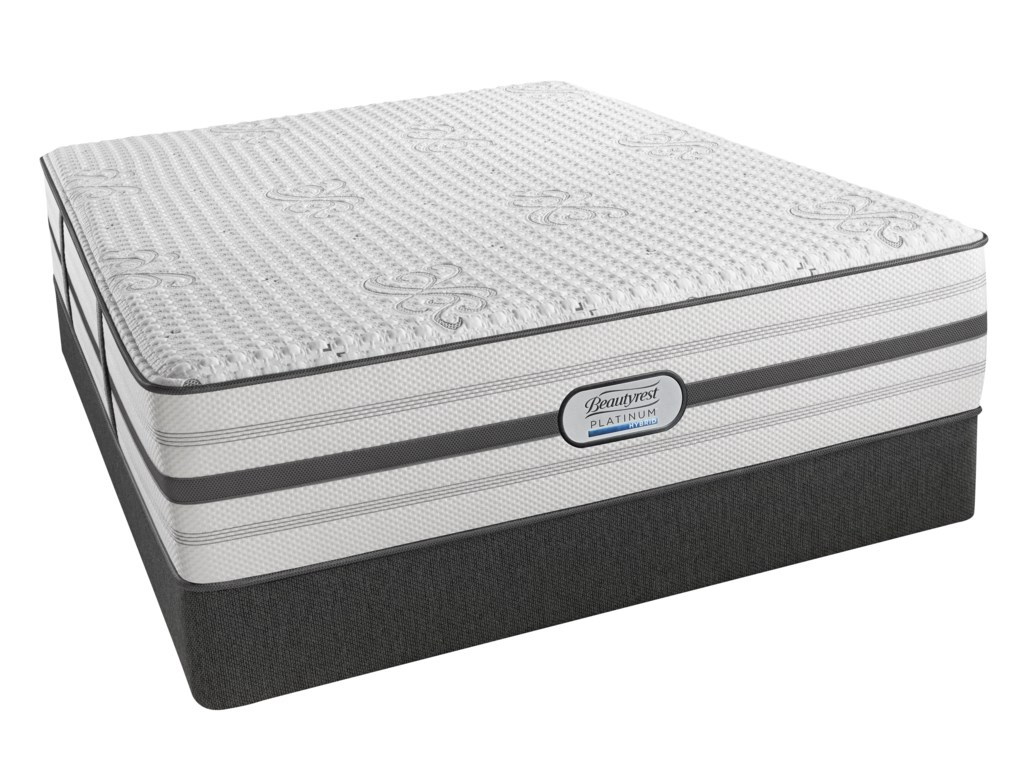 Beautyrest Platinum AustinQueen Luxury Firm Low Profile Set