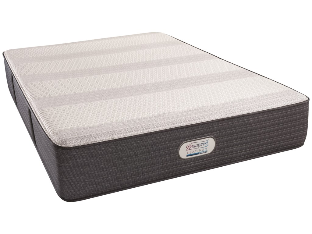 Beautyrest Platinum Hybrid Kedison PlushBeautyrest Cal King Adjustable Set