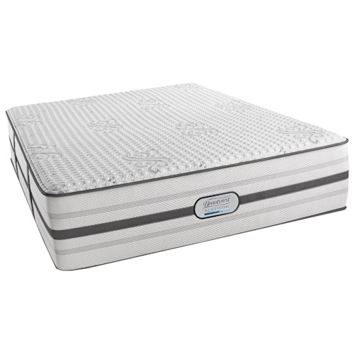 Beautyrest Platinum Hybrid Maddie Cal King Luxury Firm Mattress and SmartMotion™ 1.0 Adjustable Base