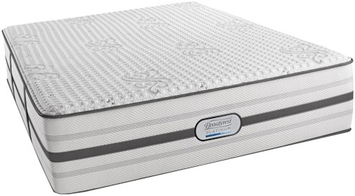 Beautyrest Platinum Hybrid Maddie Cal King Luxury Firm Mattress and SmartMotion™ 3.0 Adjustable Base