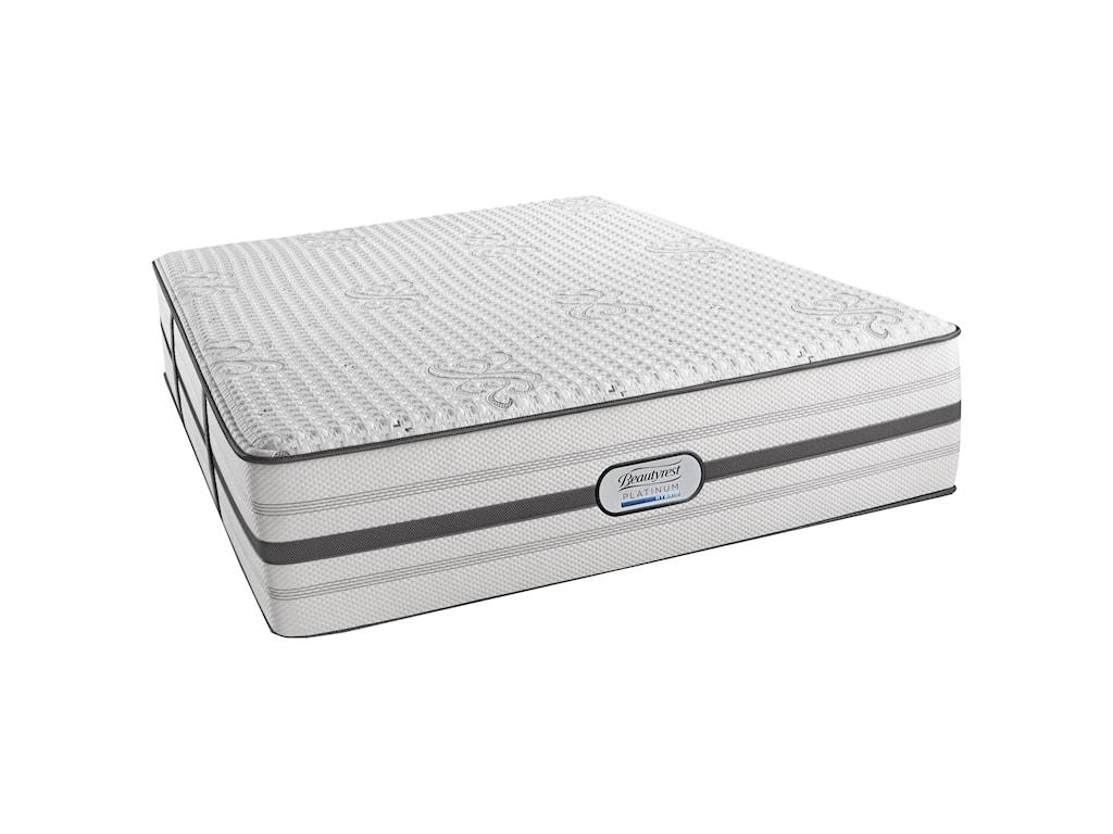 Simmons Beautyrest Platinum Hybrid MaddieQueen Luxury Firm Hybrid Mattress Set, Adj