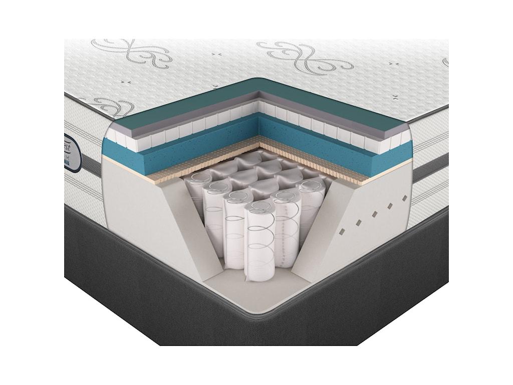 Beautyrest Platinum Hybrid MaddieTwin XL Luxury Firm Mattress