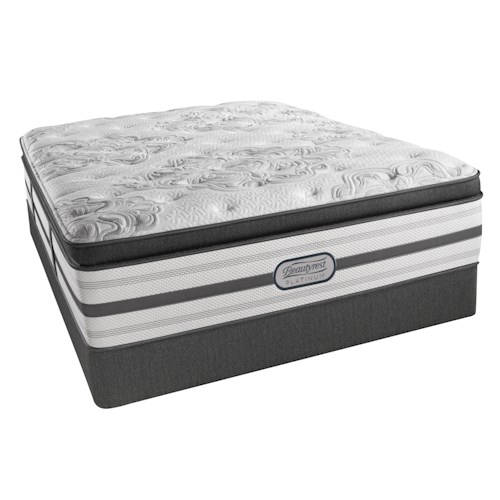 Beautyrest Platinum Katherine Split King Luxury Firm Box Pillow Top 16 1/2