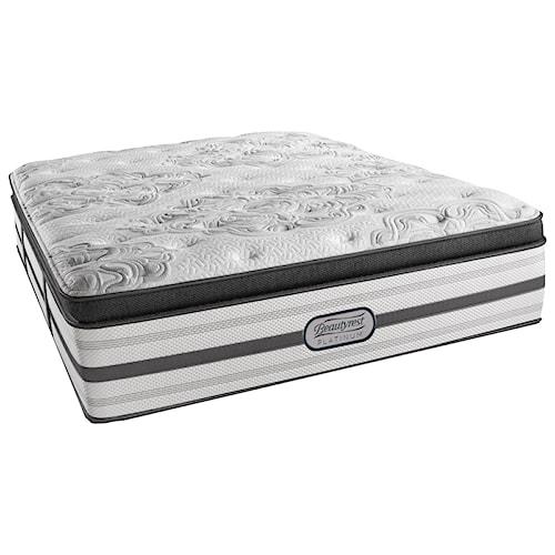 Beautyrest Platinum Katherine Twin XL Plush Box Top Mattress and SmartMotion™ 2.0 Adjustable Base