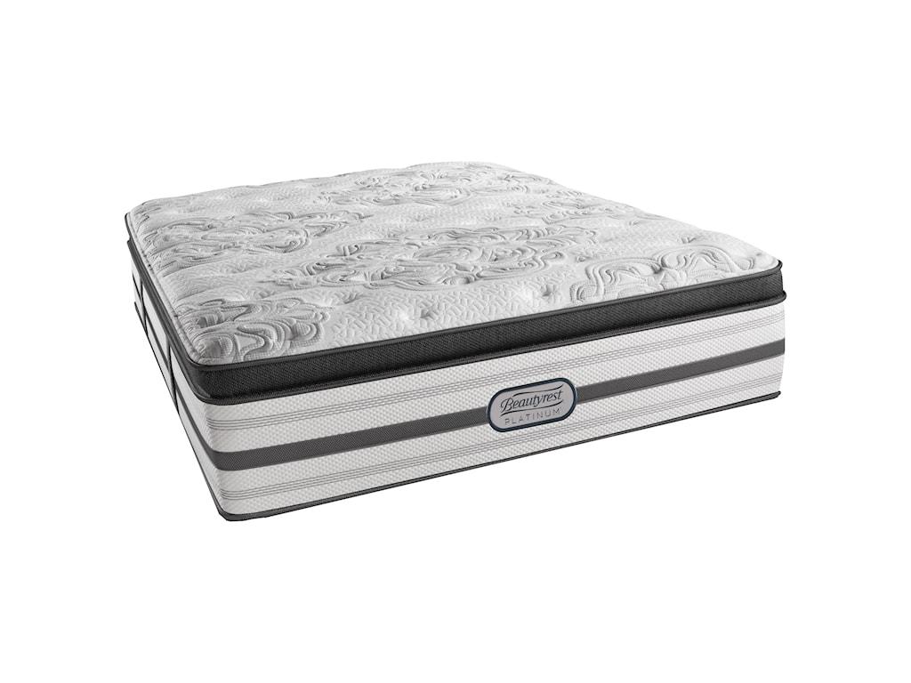 Beautyrest Platinum KatherineTwin XL Plush Box Top Adjustable Set