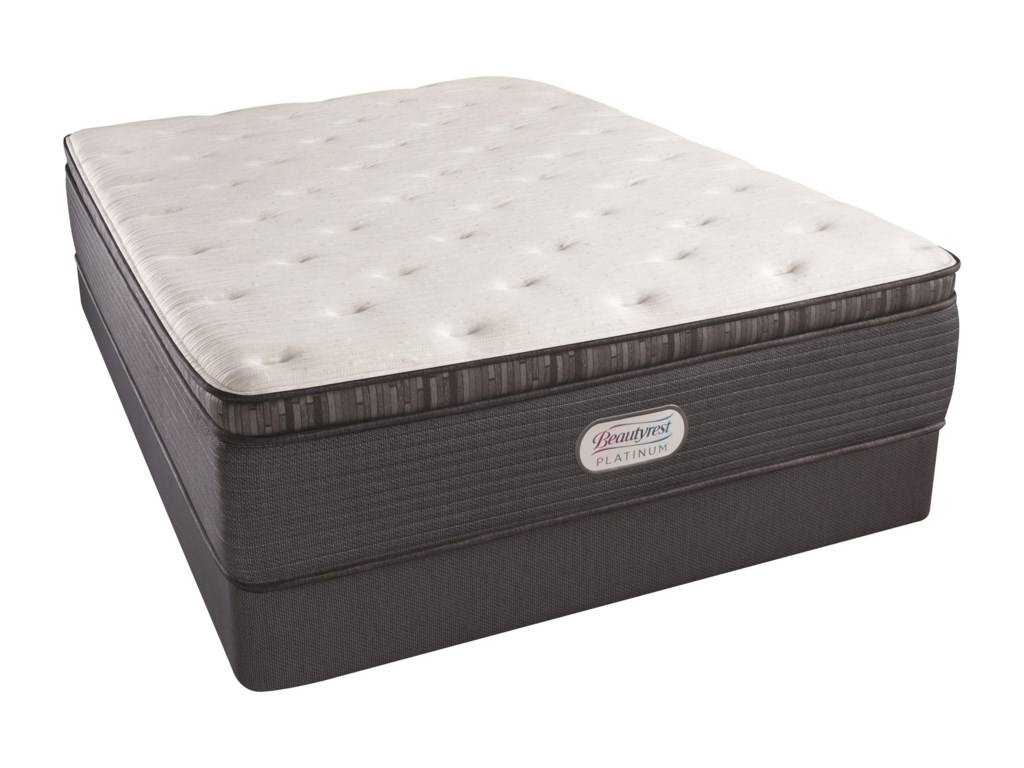 Beautyrest Beautyrest Platinum Spring Grove Plush PTKing 15
