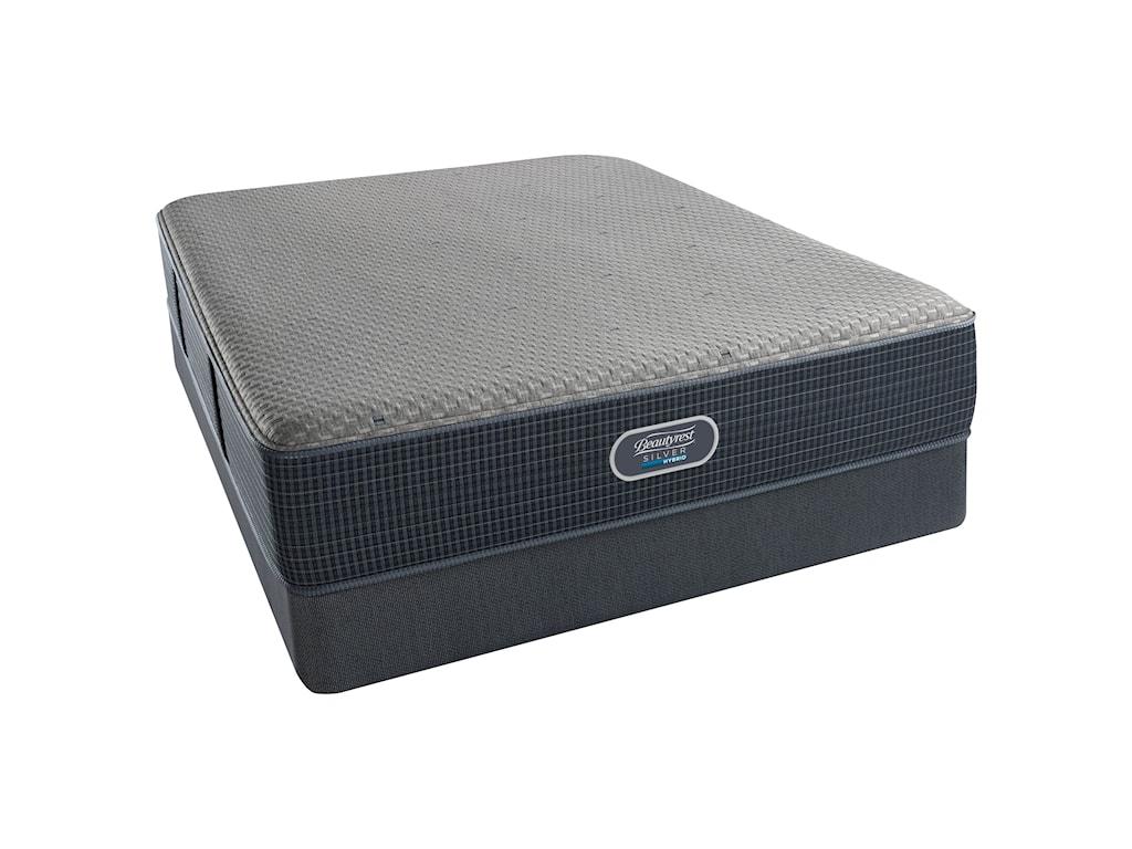 Beautyrest Silver Hybrid Beachwood Luxury FirmBeautyrest Silver Cal King Low Profile Set