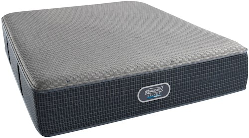 Beautyrest Silver Hybrid Cascade Mist Firm Cal King Mattress and SmartMotion™ 2.0 Adjustable Base