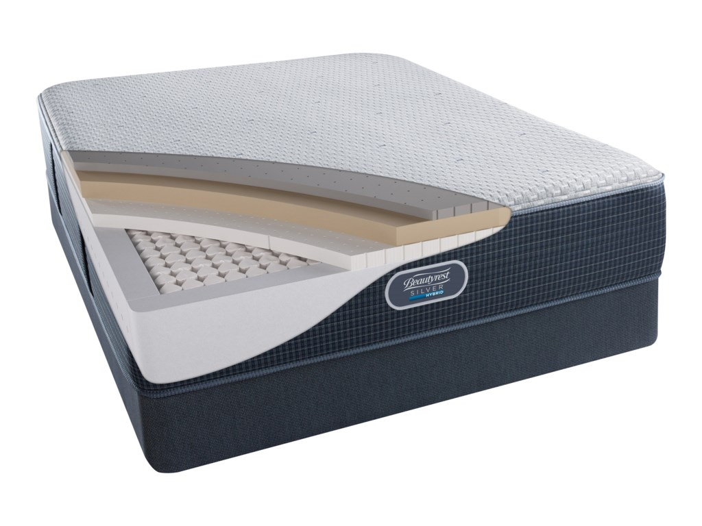 Beautyrest Silver Hybrid Harbour Beach Luxury FirmBeautyrest Silver Cal King Mattress