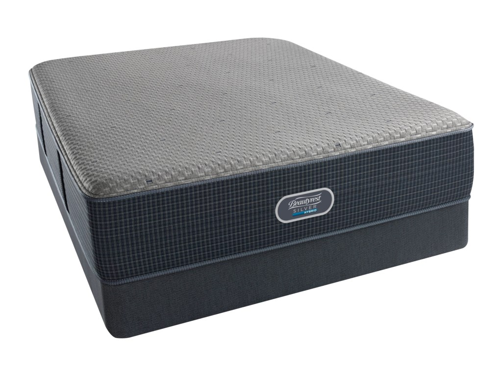 Beautyrest Silver Hybrid Harbour Beach Ultimate PlushBeautyrest Silver Twin Low Profile Set