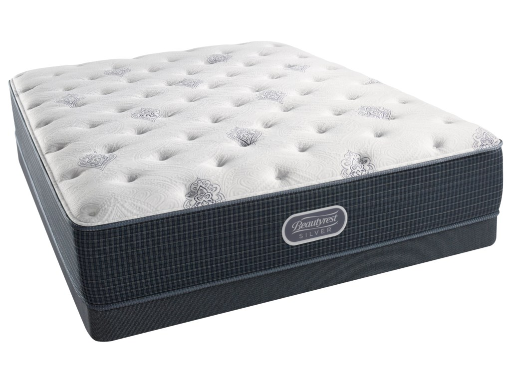 Beautyrest Silver Open Seas PlushBeautyrest Silver King Low Profile Set