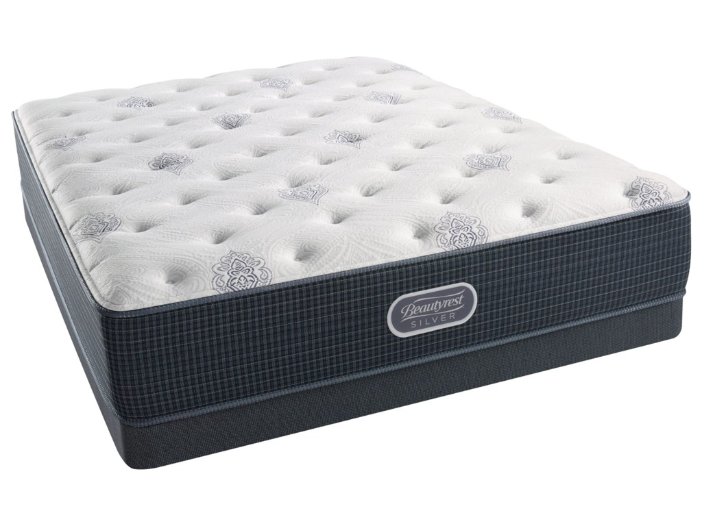 Beautyrest Silver Tidewater PlushBeautyrest Silver Queen Low Profile Set