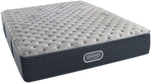 Beautyrest Silver Charcoal Coast Extra Firm Twin XL Mattress and SmartMotion™ 2.0 Adjustable Base