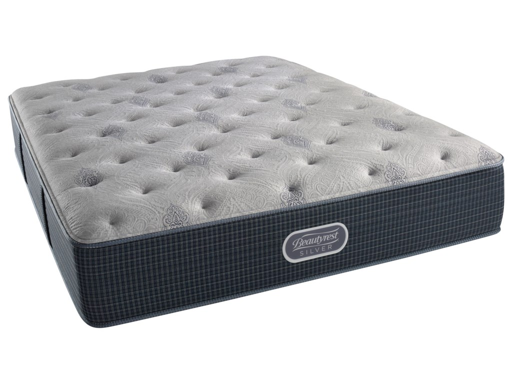 Simmons Beautyrest Silver Lvl 2 Charcoal Coast Luxury FirmCal King 13.5