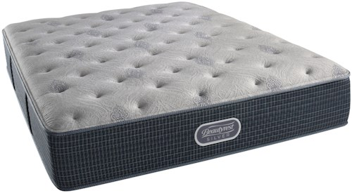 Beautyrest Silver Charcoal Coast Plush Cal King Mattress and SmartMotion™ 1.0 Adjustable Base