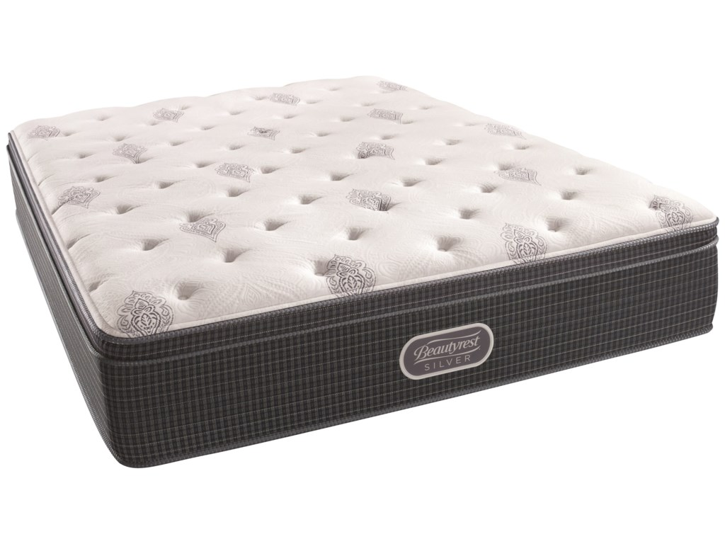 Simmons Beautyrest Silver Open Seas Firm Euro TopCal King 14