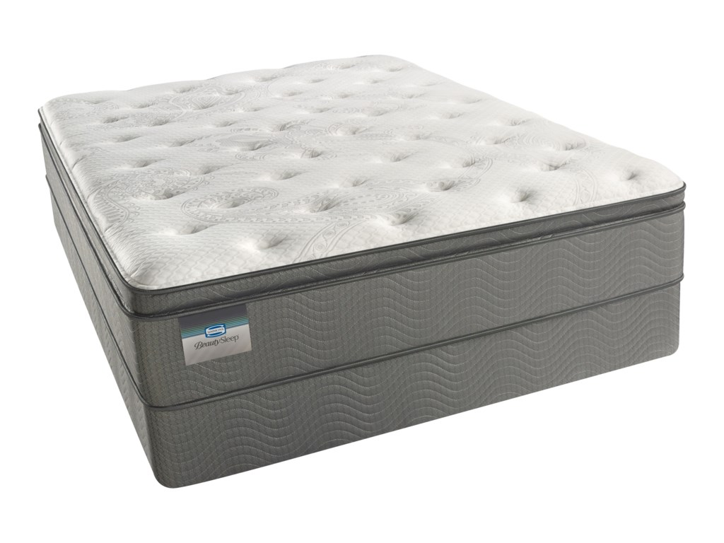 Beautyrest Beautysleep Keyes Peak Lux Firm PTCal King 12 1/2