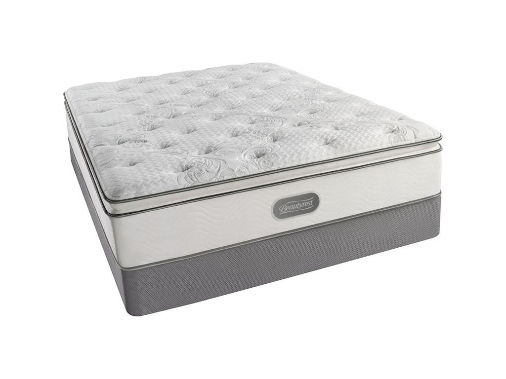 Simmons Beautysleep Palisades Plush PTFull Plush Pillow Top Mattress Set, LP