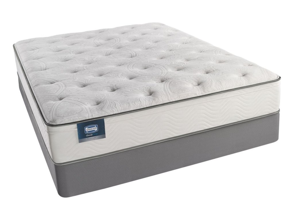 Image is Similar to Mattress, Actual Mattress is a Euro Pillow Top;  Image May Not Represent Size Indicated