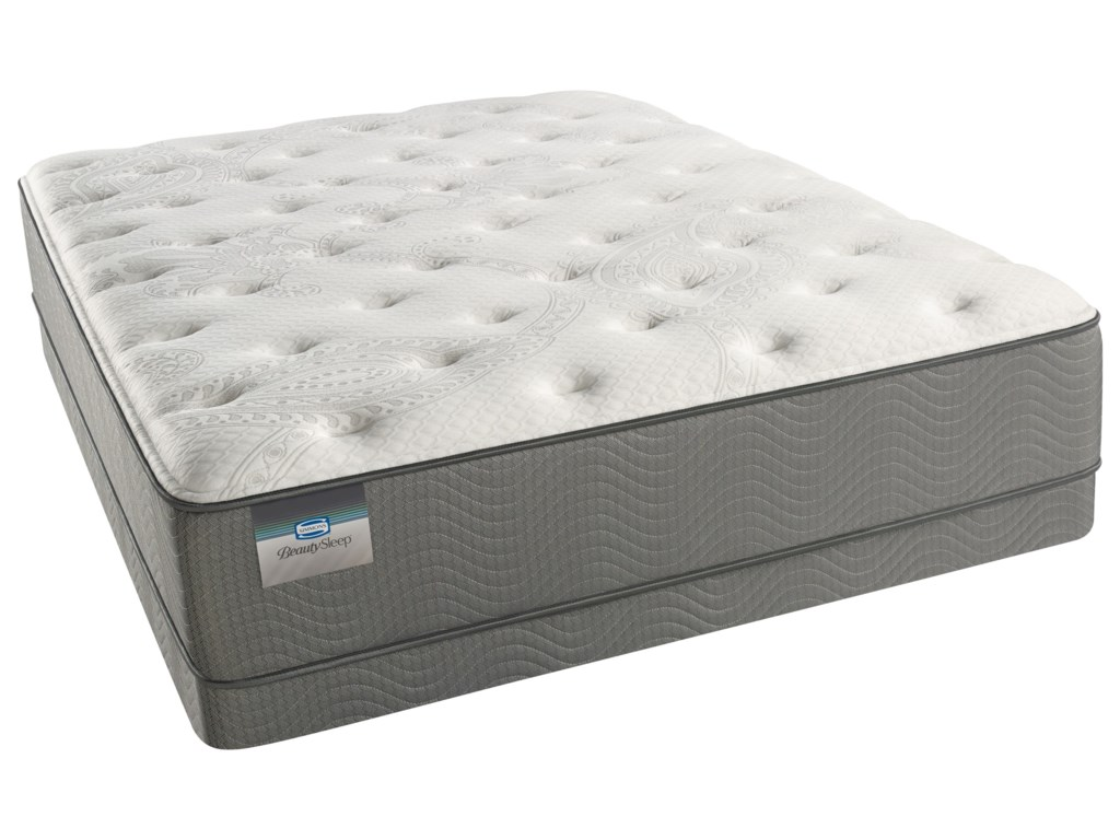 Beautyrest Beautysleep White Pass Luxury Firm Cal King Low Profile Set