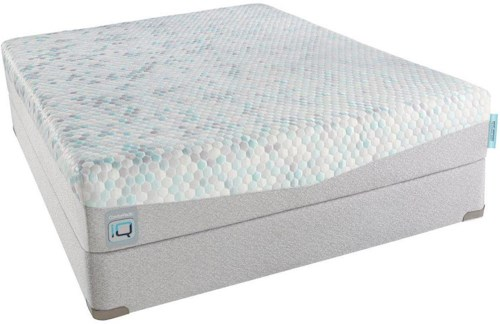Simmons CPiQ170-F California King Firm Mattress and Foundation