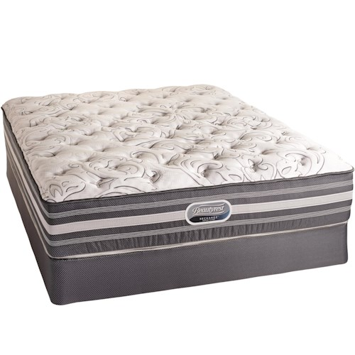 Simmons Canada Beautyrest Recharge World Class Ashgrove 2015 Twin Firm Mattress and Foundation