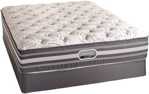 Simmons Canada Beautyrest Recharge World Class Ashgrove 2015 Queen Firm Mattress and Foundation