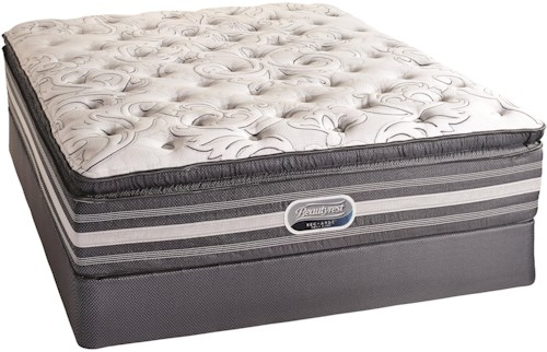 Simmons Canada Beautyrest Recharge World Class Heatherview 2015 Queen Plush Mattress and Foundation