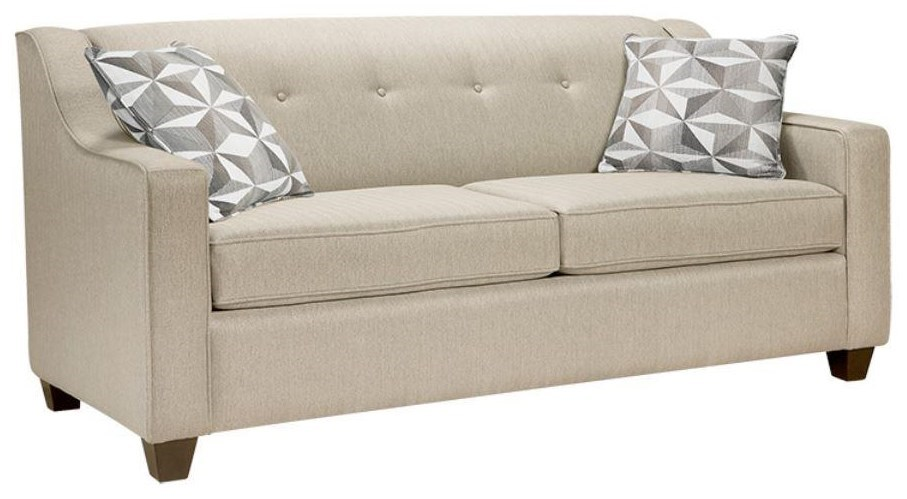 Simmons Upholstery Canada Rebecca Double Sofa Bed Stoney