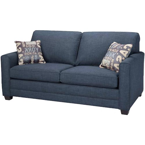 Simmons Upholstery Canada Trinity Double Hide-A-Bed with Track Arms