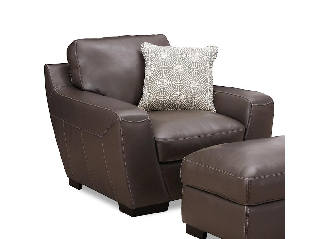 Simon Li AlphaLeather Match Chair
