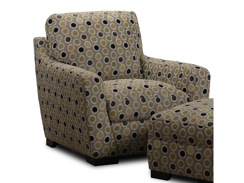 Simon Li AlphaUpholstered Accent Chair