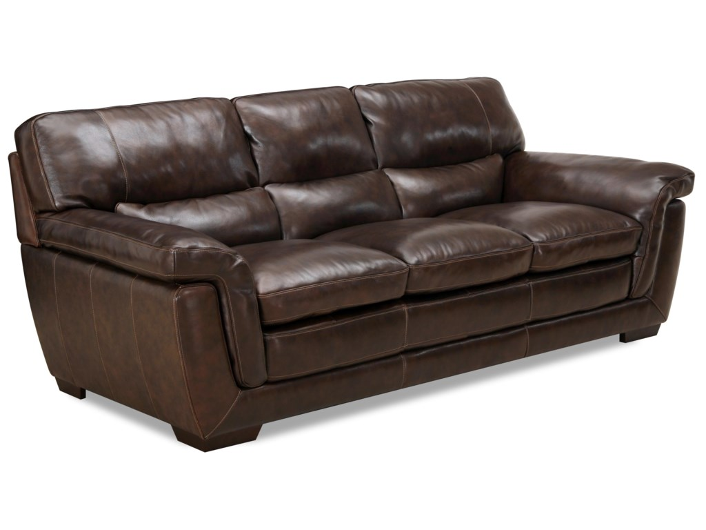 Valente Leather 6956Casual Leather Sofa