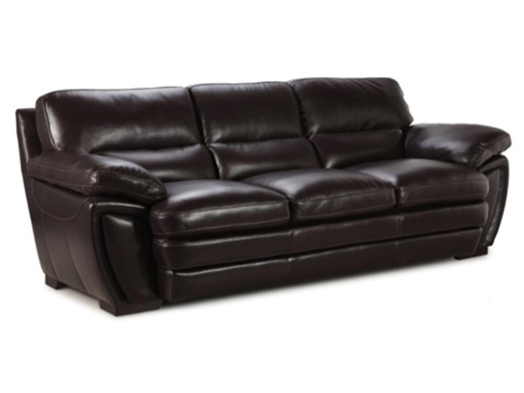 Valente Leather 69953-Seater Stationary Sofa