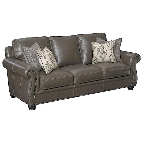 Simon Li H044 Traditional Sofa with Nailhead Trim