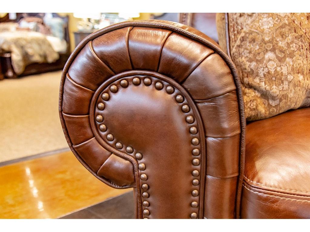 Simon Li St. JamesTobacco Leather Chair