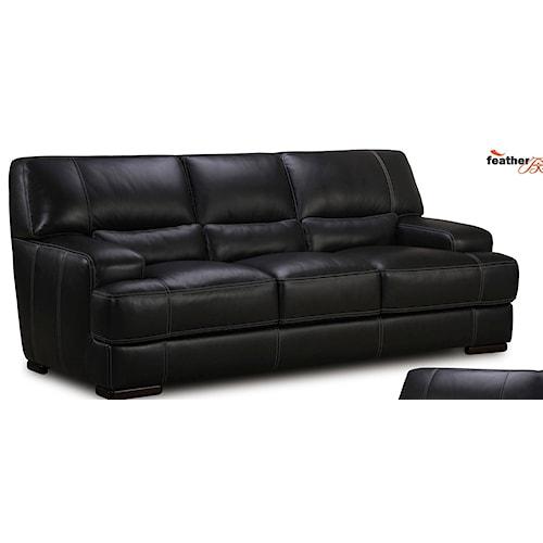 Simon Li J464 Leather Sofa