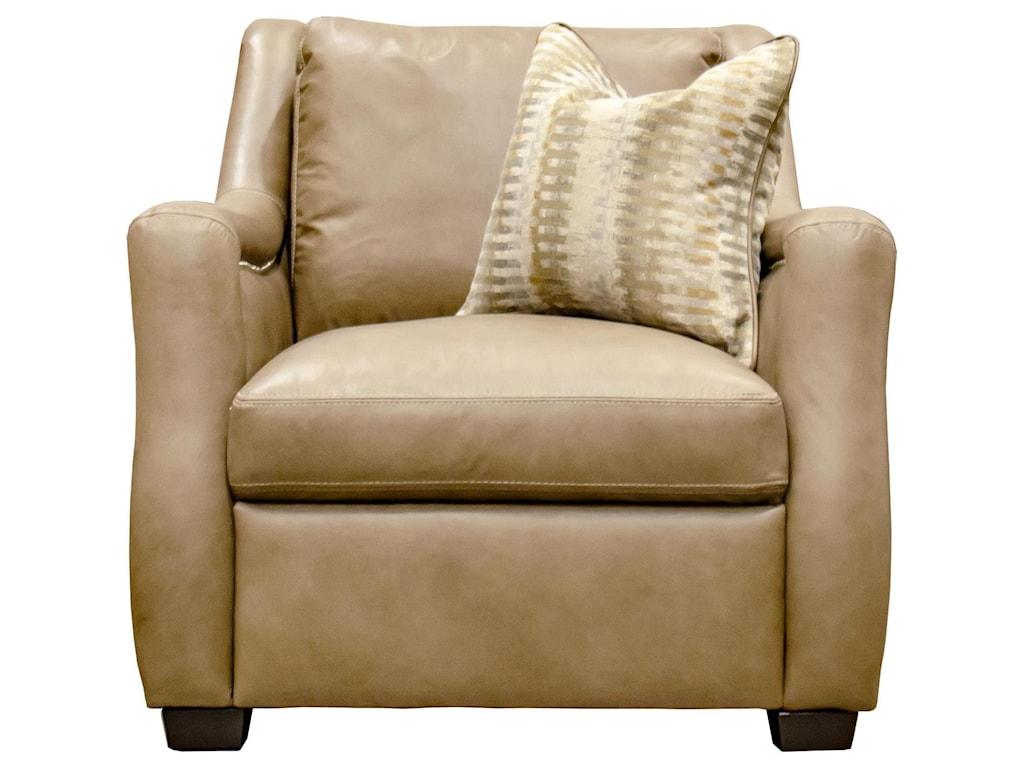 Simon Li NeutralLeather Chair