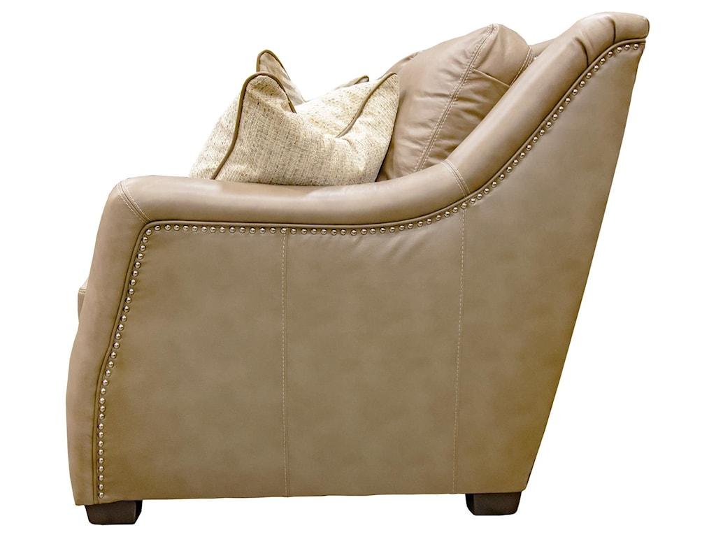Simon Li NeutralLeather Sofa