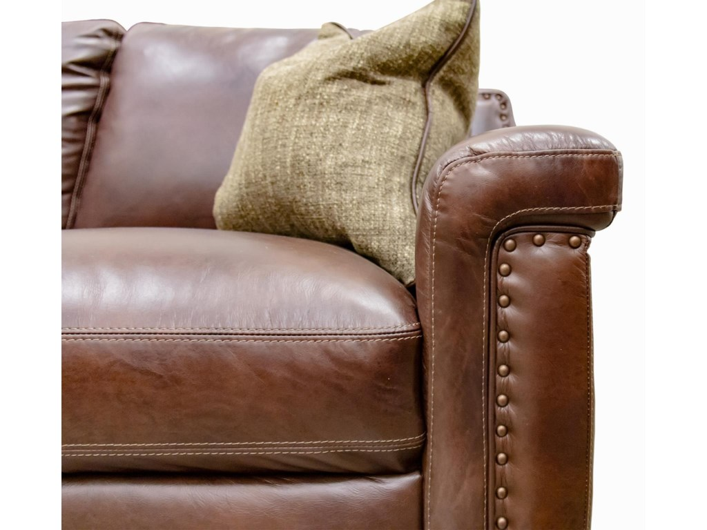 Simon Li Old EnglishLeather Chair