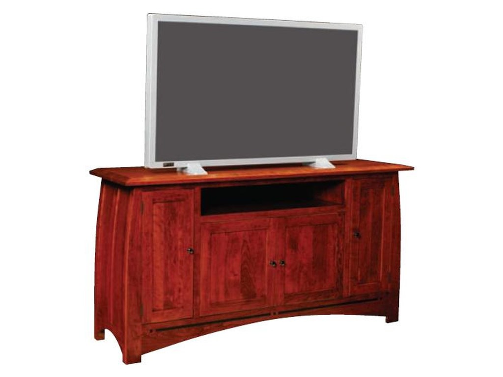 Simply Amish AspenGame TV Console