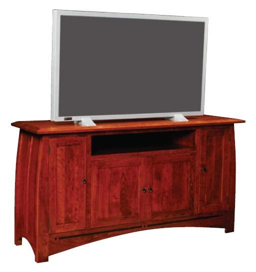 Aspen Game TV Console By Simply Amish