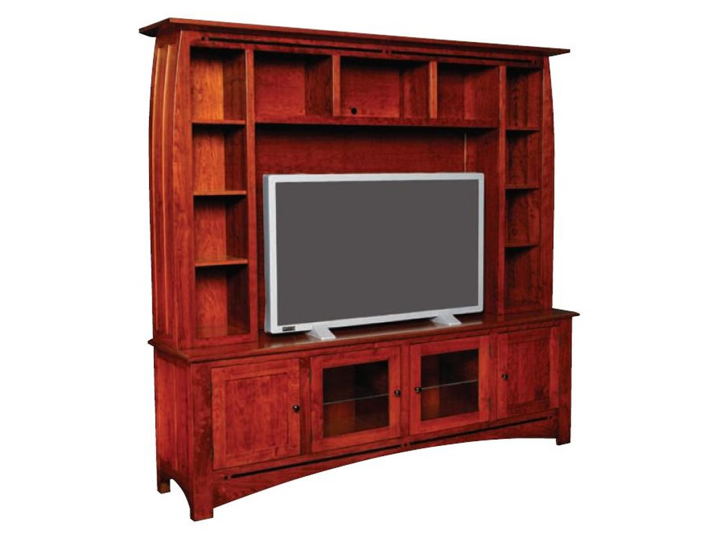 Aspen Deluxe Entertainment Center By Simply Amish