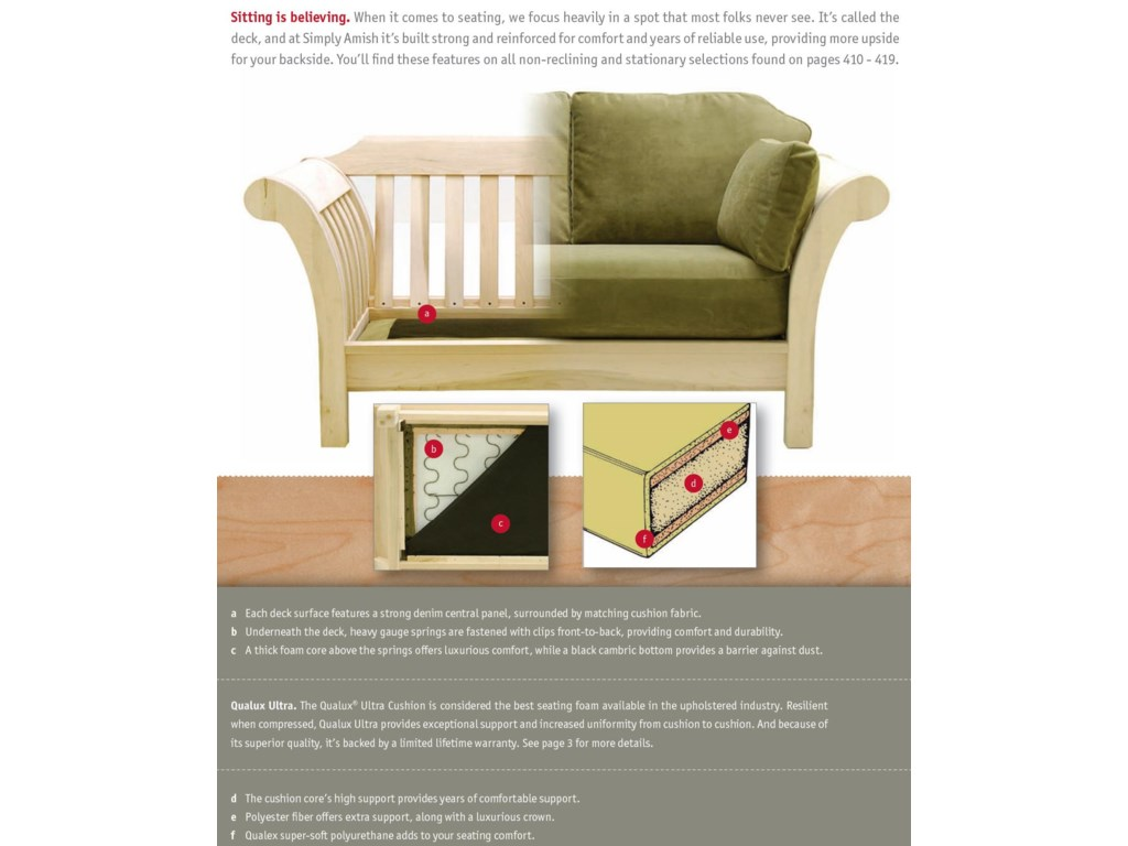 Superior Construction and Cushioning