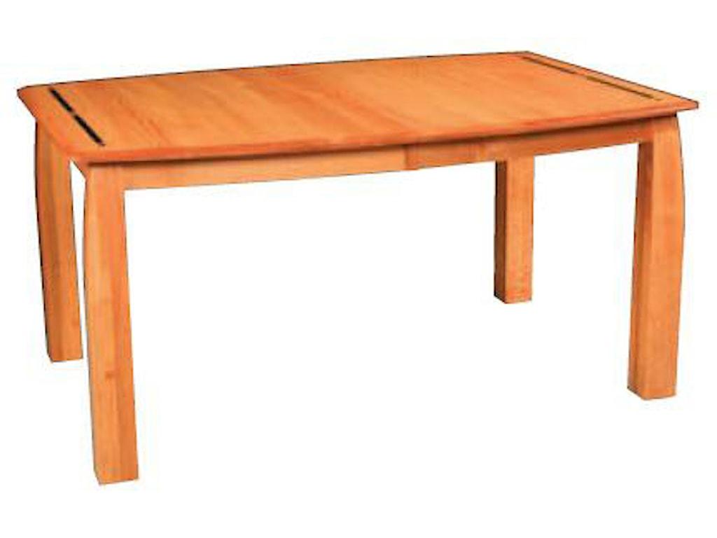 Simply Amish AspenLeg Table