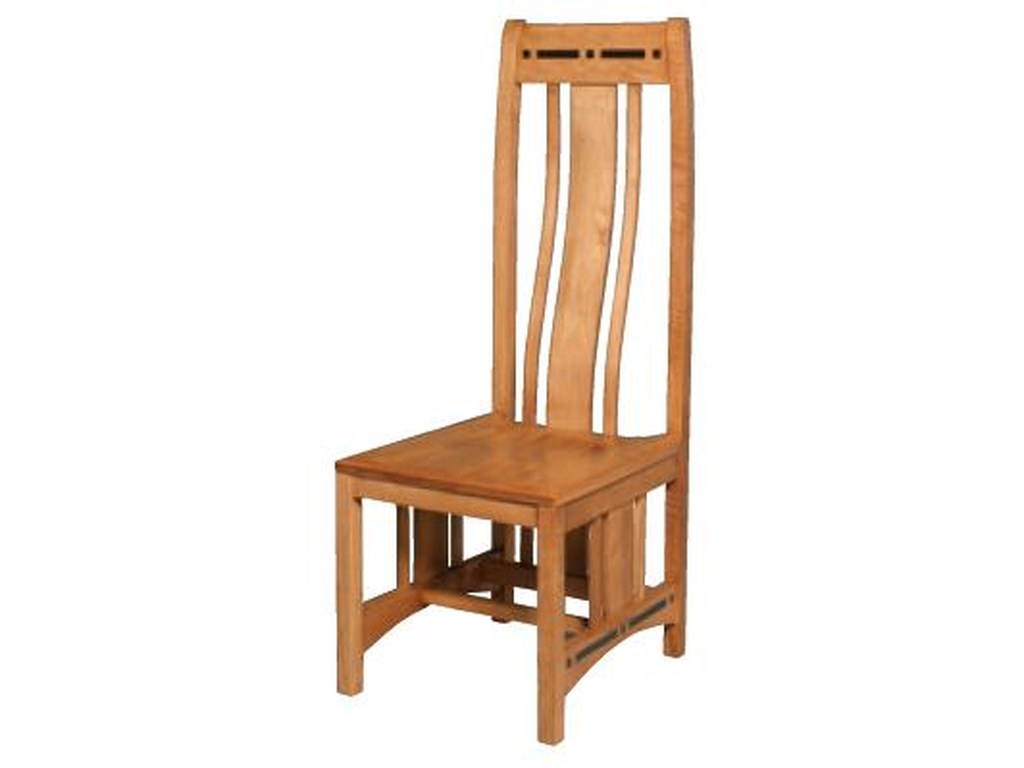 Simply Amish AspenWood Seat Aspen Side Chair
