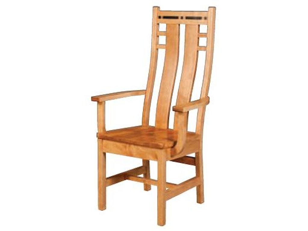 Simply Amish AspenColorado Chair