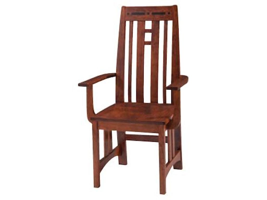 Simply Amish AspenPrairie Aspen Arm Chair